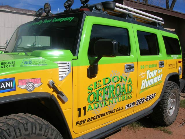 Sedona Off Road Hummer Wrap