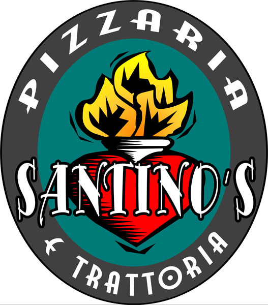 Santino's Pizzaria Logo Design