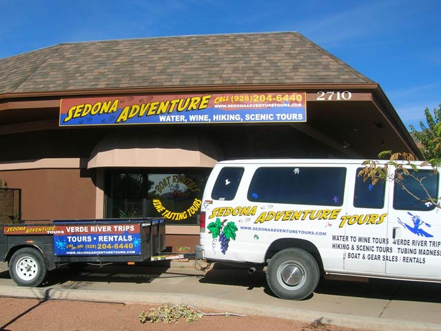 Sedona Adventure Tours car wraps