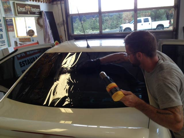 Sun Signs car window tinting Sedona Arizona