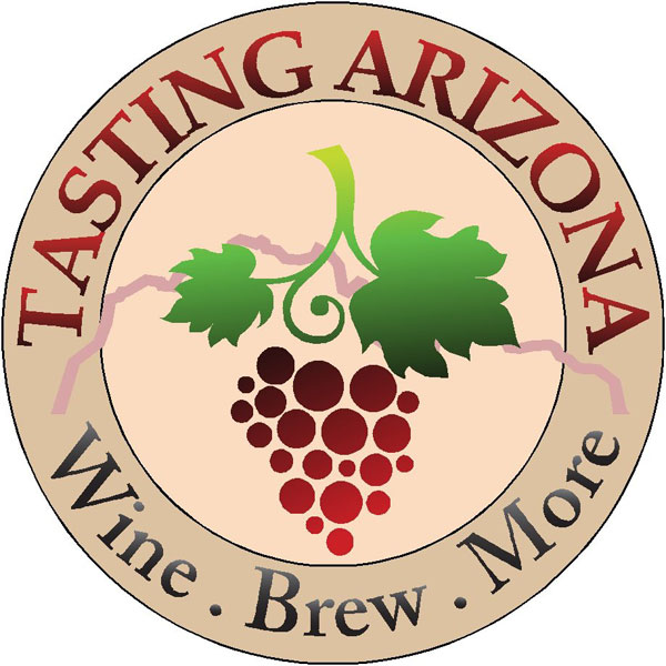 Tasting Arizona Wine Brew Logo